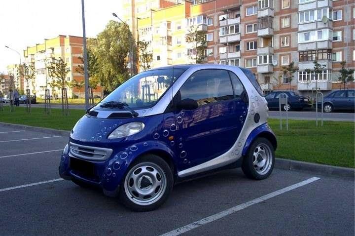 Smart City (mėlynas) nuoma