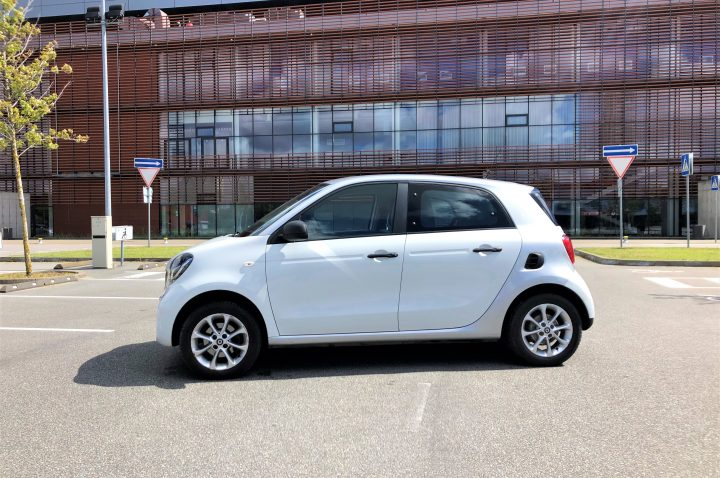 Smart Forfour nuoma